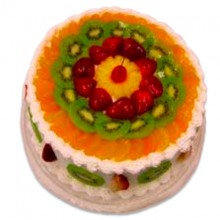 1Kg Eggless Fresh Fruit cake