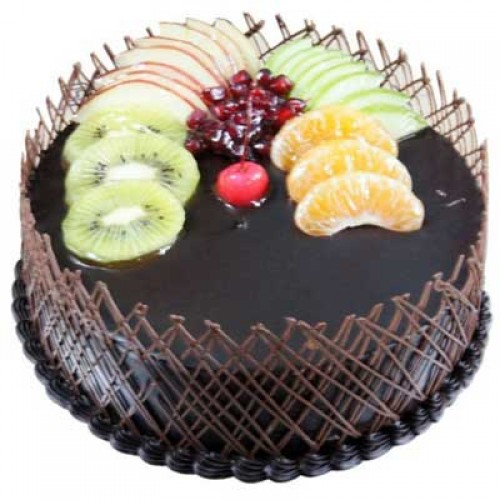 1kg Chocolate Fruit Cake