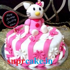 1kg Hello Kitty cake