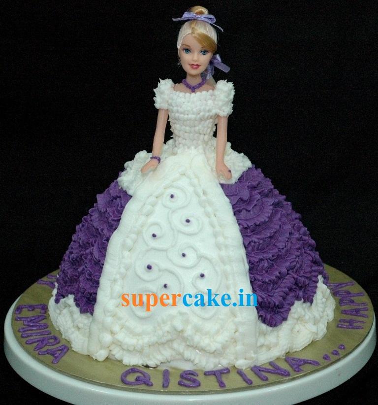 2kg Doll Cake Designer