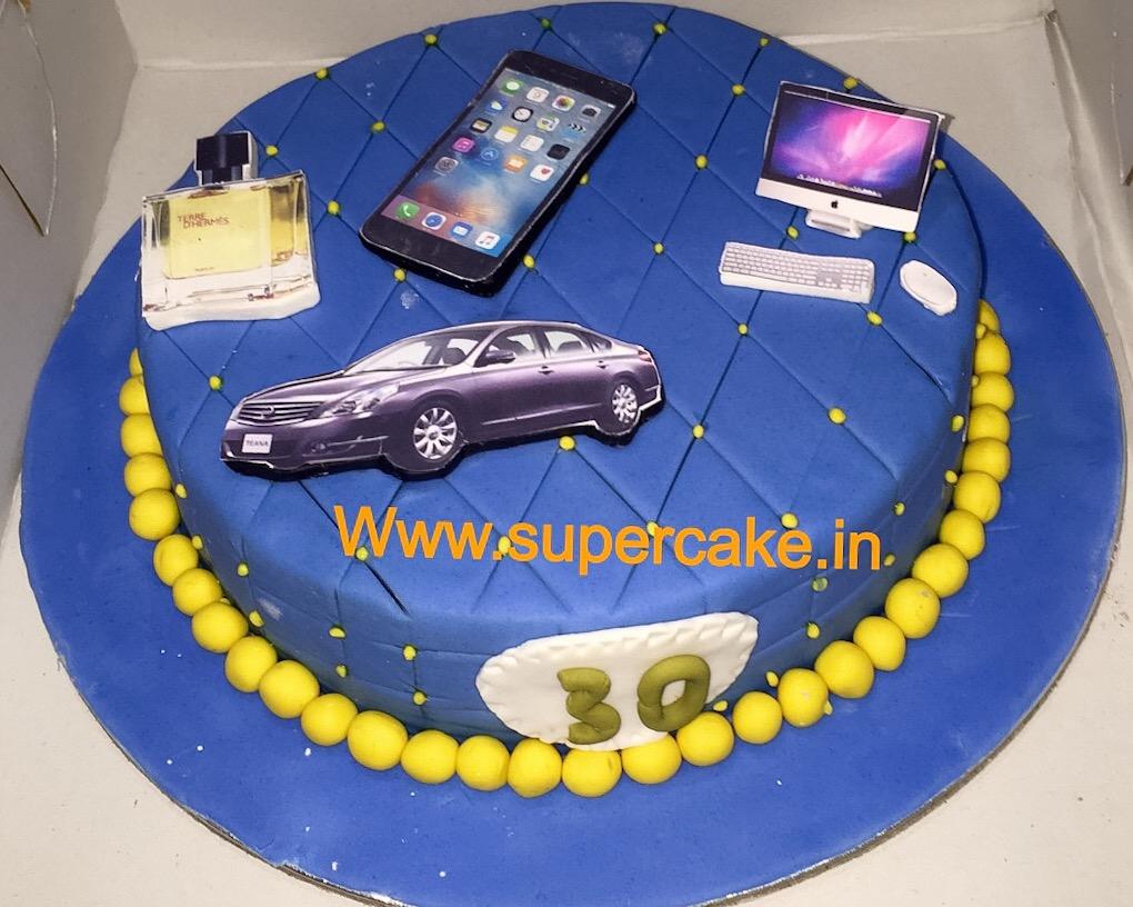Online Designer Cake Delivery In Noida Midnight Designer Cake Order