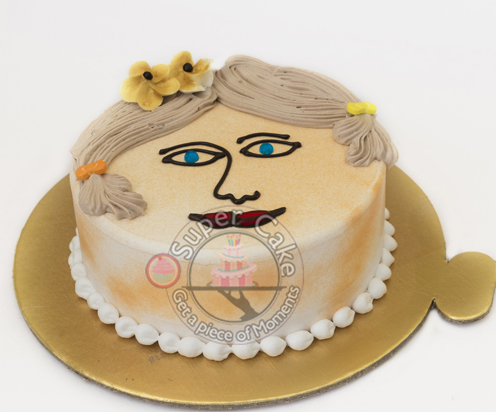 500g Baby Face Cake