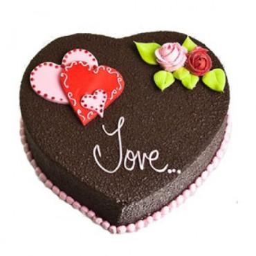 1 kg heart shaped chocolate