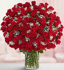 150 Red Rose Bunch