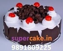 1 kg eggless black forest cake eggless